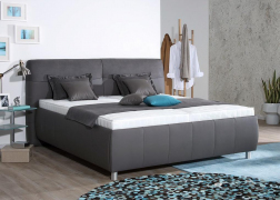Pallas ágy steppelt ágytesttel és 2-es fejvéggel