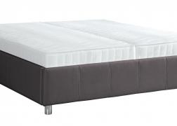 Egyenes steppelt ágytest kivitel, 41 vagy 51 cm-es ágytest magasságban is választható (a fotón a 41 cm-es látható)