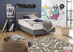 Vanda De Luxe ágy GBA 29 szövettel, 4-es fejvéggel