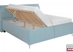 Nagy méretű ágyneműtartó a fekvőfelület alatt
