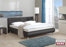 Bellino ADA ágy NTLO10-es fekete textilbőrrel