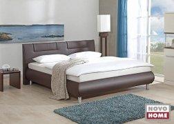 Bellino ADA ágy NTLO4 barna textilbőrrel