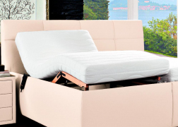 Mosoros ágyráccsal is rendelhető az ADA Bozana franciaágy