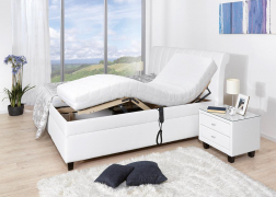 Gala ágyneműtartós ágy 1611-es motoros ágyráccsal