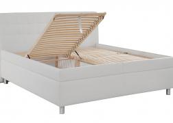 Gala ágy 1120-as ágyráccsal, amely oldalról és lábvégről is nyitható