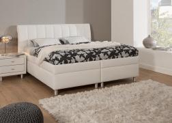 Gala ágy 2-es fejvéggel NTLO 1 textilbőrrel