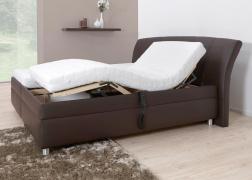 Gala franciaágy motoros ágyrács matraccal együtt