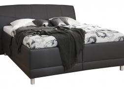 Glory ágyneműtartós ágy 2-es fejvéggel, TER 8 textilbőrrel