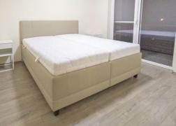 8-as típusú fejvég, mellyel az ágy teljes mélysége mindössze 207,5 cm