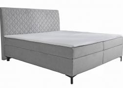 Petro Alina Sleeping ágy: Gyönyörű bársony szövet, elegáns S 17-es fekete fém lábak és maximális kényelem