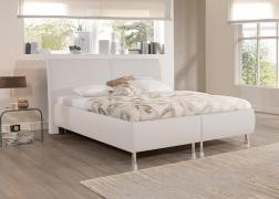 Reggy ADA ágy  2-es fejvéggel NTLO1 fehér textilbőrrel