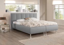 ADA Trendline Reggy ágy szürkében 3-as fejvéggel