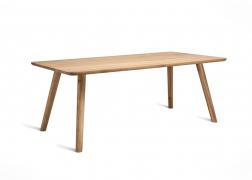 MALTA tömör tölgy asztal 200x100 cm-es méretben