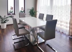 Sandor asztal vásárlónk otthonában