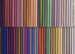 300 cm széles dekoranyag csodaszép selyemfényű  gazdag színválasztékban 4700 Ft-tól