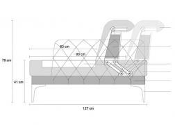 Galla kanapé és L alak méretezés
