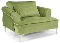 A fotel dísztűzéssel készül