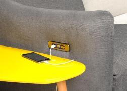 Rio relax funkciós ülőgarnitúra, USB töltővel