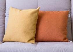 Napsárga és narancssárga párna 45x45 cm, 6.500 Ft
