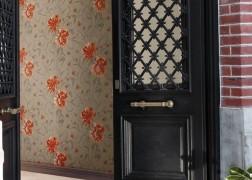 Casamance Hampton Garden Peony virágmintás tapéta 4 féle színben, 0,53x10 m tekercsben
