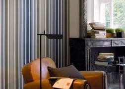 Casamance Hampton Garden Anemone csíkos 4 féle színben 0,53x10 m tekercsben