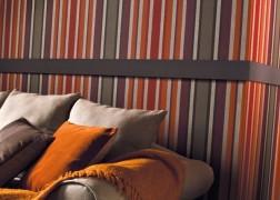 Anemone színes csíkokkal festett tapéta sokféle színben 0,53x10 m tekercsben