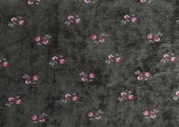 Myra kisvirág zsenília zöld bútorszövet 8.200 Ft/m