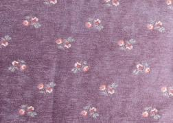 Myra kisvirág zsenília lila bútorszövet 8.200 Ft/m