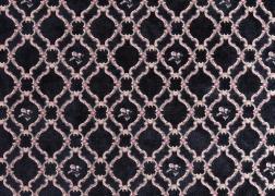 Myra Classic fekete zsenília bútorszövet 8.200 Ft/m