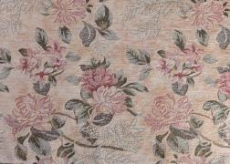 Gardénia drapp klasszikus virág mintás bútorszövet 7.000 Ft/m