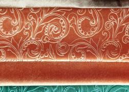 Milánó fényes bársony hatású bútorszövet mintás és üni változatban 7.900 Ft-tól