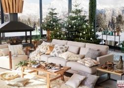Tom Tailor Westcoast kanapé rengeteg párnával Lazy fotellel