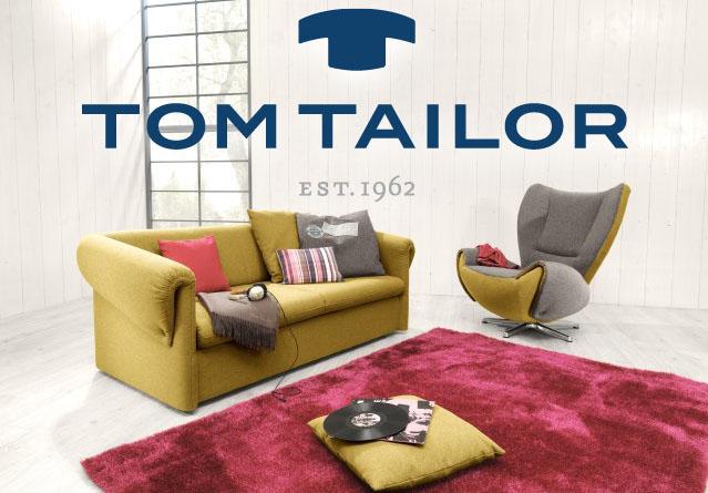 Tom Tailor ülőgarnitúrák már rendelhetők üzletünkben!