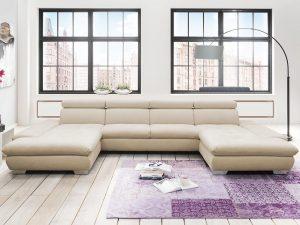 7580 Alina sarokgarnitúra, kanapé