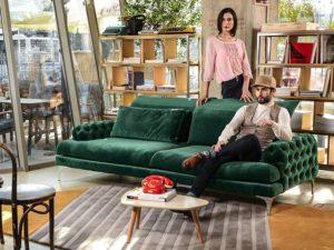 Galla ülőgarnitúra, kanapé