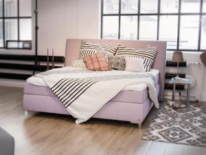 Boxspring ágy – Tom Tailor Soft Lines Box