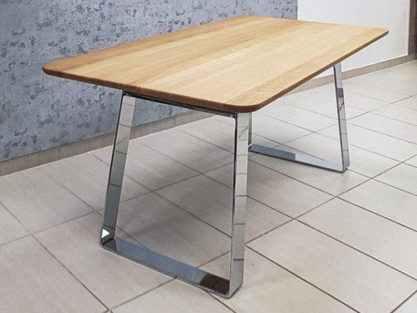 MALE ADA tömör tölgy asztal, étkezőasztal