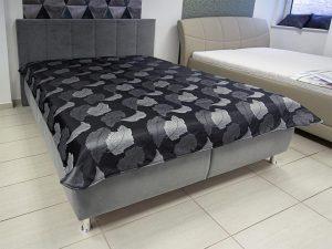 Levél mintás ágytakaró, akciós -70%