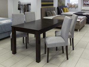Stefano asztal Toni székekkel